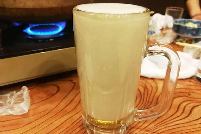 生ビールです。